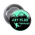 Jay Peak Vermont artistic skier Pins