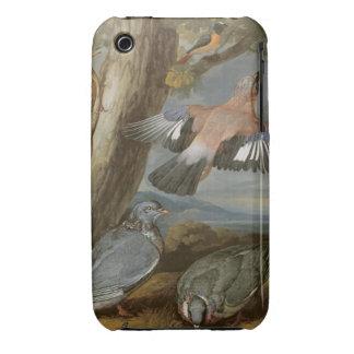 Jay, pulsación de corriente verde, palomas y Case-Mate iPhone 3 cárcasas