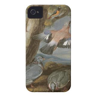 Jay, pulsación de corriente verde, palomas y Case-Mate iPhone 4 cárcasas