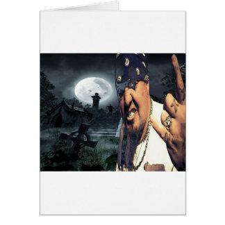 Jay Sin Snake City Playboys Greeting Card