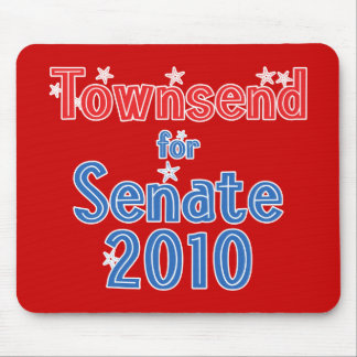 Jay Townsend for Senate 2010 Star Design Mouse Pad