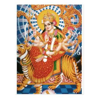 Jaya Maata Di (Glory to the Mother Goddess) Postcard