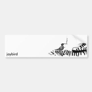 jaybird car bumper sticker