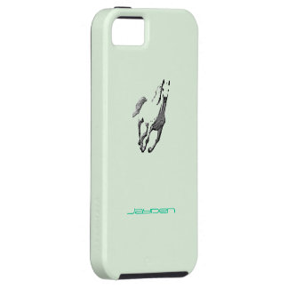 Jayden iPhone 5 Wild Horse green case Case For iPhone 5/5S