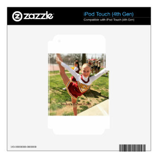 Jayden iPod Touch 4G Decal