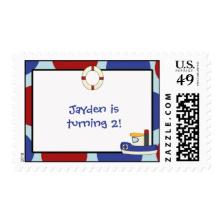 Jayden is turning 2! stamps