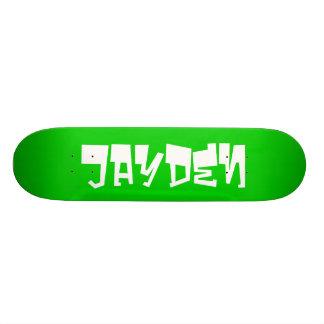 Jayden personalized skateboard custom skateboard