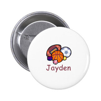 Jayden Pinback Buttons