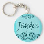 Jayden Scroll Keychain