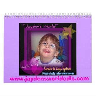 Jayden's World Calender - Customized Calendar