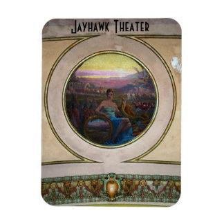 Jayhawk Theater Flexible Magnet
