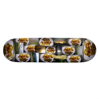 JayKnighgt food Skateboard Deck