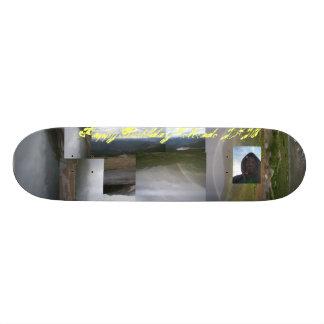 JayKnight Colorado Birthday Skater Bored Skateboard Deck