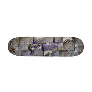 JayKnight HB Colorado Bored Five Skateboard Deck
