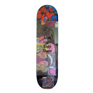 JayKnight Lady Skater Skateboard
