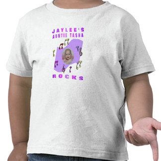 JAYLEE'S  AUNTIE TASHA ROCKS TSHIRTS