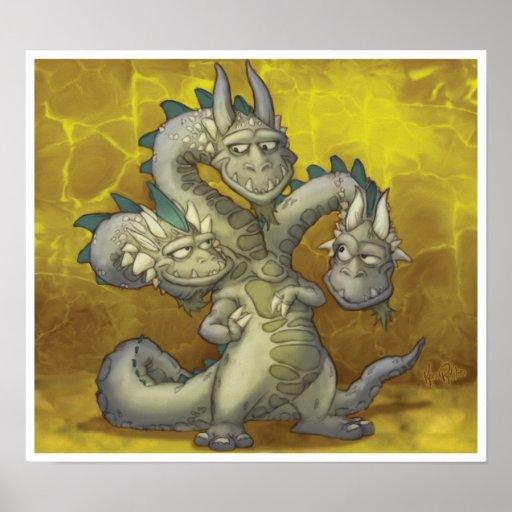 Jayne, Casey, Knowle los tres dirigió el dragón Posters