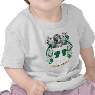 Jayne Coat of Arms Family Crest Tshirt