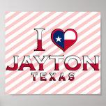 Jayton, Texas Print