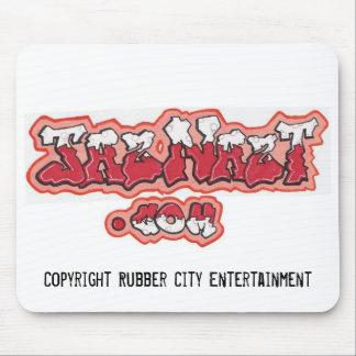 Jaz Logo, Copyright Rubber City Entertainment Mouse Pad