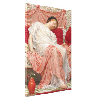 Jazmín de Albert José Moore, bella arte del Lona Envuelta Para Galerias