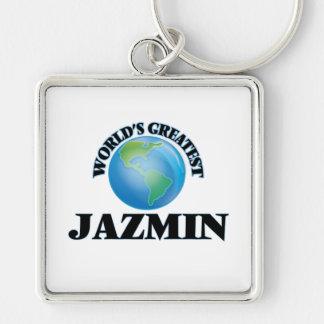 Jazmin más grande del mundo llaveros personalizados