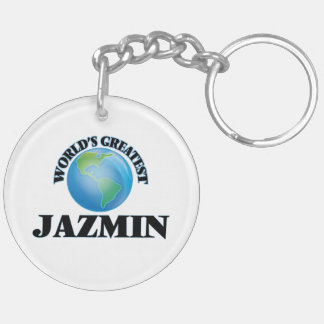Jazmin más grande del mundo llaveros