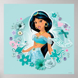 Jazmín - princesa Jasmine Póster