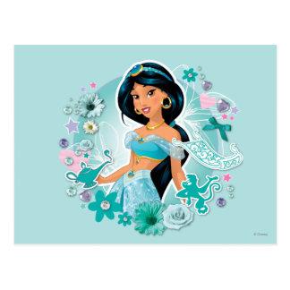 Jazmín - princesa Jasmine Tarjetas Postales