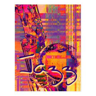 Jazz13 Tarjeta Postal