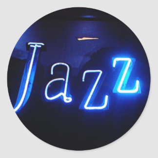 jazz1 classic round sticker