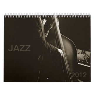 Jazz 2012 Musicians Music Impressions Vintage 2012 Calendar