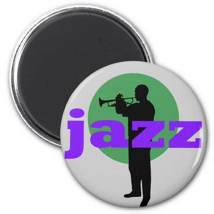 Jazz 2 Inch Round Magnet