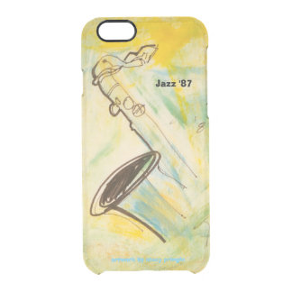 "Jazz ""87 clear iPhone 6/6S case"