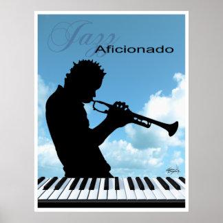Jazz Aficionado Music Poster Print