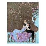 Jazz Age Fireworks Postcard