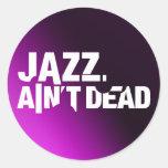 Jazz Ain't Dead Logo Sticker