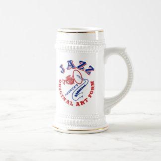 Jazz America's Original Art Form Beer Stein