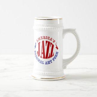 Jazz, America's Original Art Form Beer Stein
