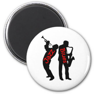 Jazz and Blues Magnet