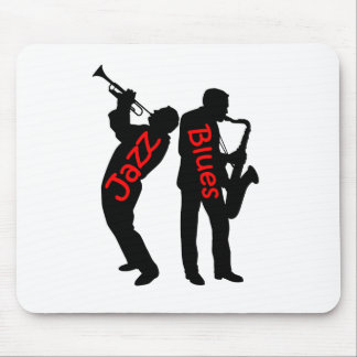 Jazz and Blues Mouse Pad