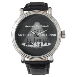 JAZZ Artist On Their Grind- MEN VINTAGE WATCH
