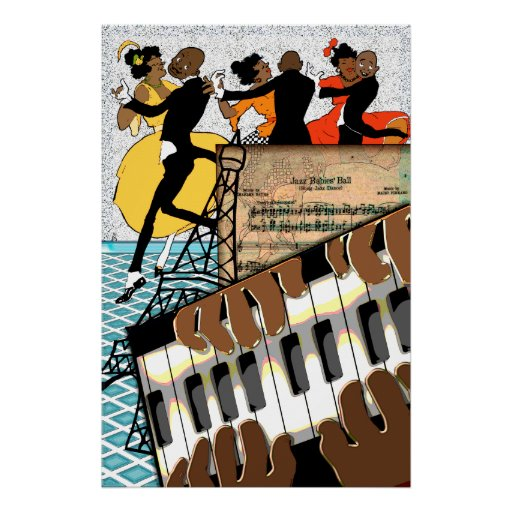 Jazz Babies Ball Poster