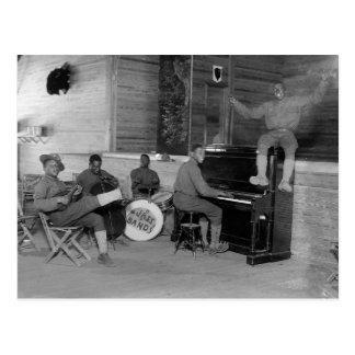 Jazz Band, 1918 Post Card