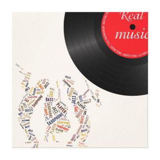 Jazz Band Canvas Print
