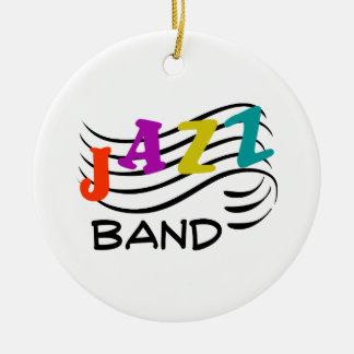 Jazz Band Ceramic Ornament