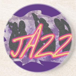 Jazz Band Smokey Sandstone Coaster
