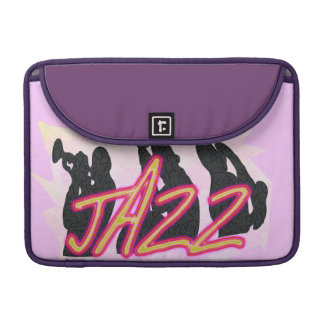 Jazz Band Smokey Sleeve For MacBook Pro