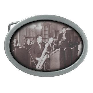 Jazz Band Vintage Photograph Belt Buckle