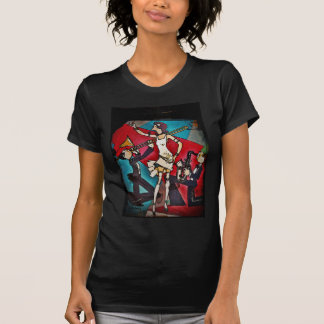 Jazz Band with Girl Singer T Shirt